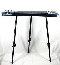 Rogue RLS-1 Lap Steel Electric Guitar w/Stand & Gig Bag- Metallic Blue  #R8349