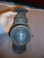 Ancienne Lanterne Lampe de Fiacre ou Train ? à Bougie ..Adlake Chicago  en Fer