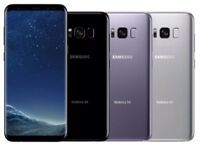 Samsung Galaxy S8+ SM-G955U - 64GB -Gray Silver Black  (T-mobile) A Unlocked