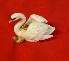 Goebel Figurine - Swan With Baby Swans