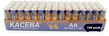 100 Pack AA Batteries Extra Heavy Duty 1.5v Wholesale Lot New Fresh
