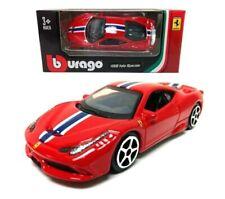 Bburago - 1:64 Model Ferrari Race & Play 458 Italia Speciale (BBBR56100B458)