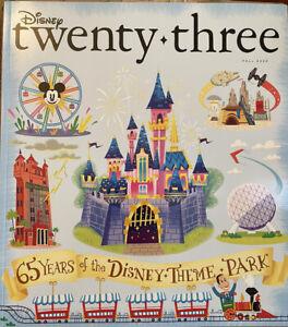 Disney  D23 Magazine 65 Years Disney Theme Parks Fall 2020 D23