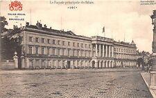 Br34890 Bruxelles La facade principale du Palais Belgium