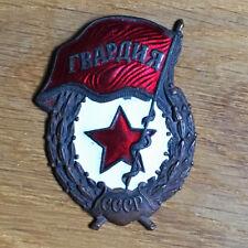 Ancien Insigne Garde soviétique Russe CCCP URSS Email Original