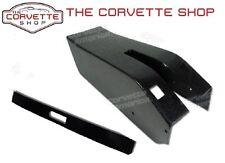 C3 Corvette Park Brake Center Console Black & Seal 1969-1976 with Power Windows