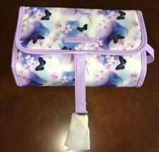 Tahari Hanging Travel Case Lavender Butterflies 🦋