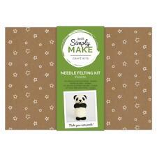 Simply Make Panda Needle Felting Craft Kit -  Christmas Xmas Decoration