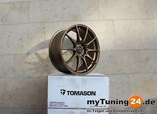 Tomason TN25 Mattbronze 8.5J x 19 ET45 5x112 - Audi, Seat, VW, Mercedes *NEU*
