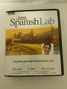 Topics Entertainment Instant Immersion Spanish Lab Audio Print Software