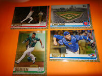 "2019 TOPPS BASEBALL, SERIES 1, ""GOLD CARDS"" SINGLES==PICK 20 CARDS"