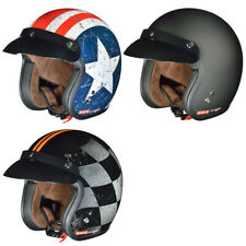 Jet Motorrad Roller Harley Helm Bobber Chopper Caferacer Custom Scrambler