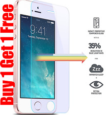 100% Genuine Tempered Glass Screen Protector for Apple iPhone SE / 5S / 5/ 5C