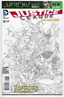 Justice League 16 DC 2013 NM 1:100 Ivan Reis Sketch Variant