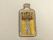 Vintage 1970's Wacky Packages Patch Bare Aspirin