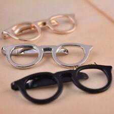 Glasses Design Tie Slide Clip