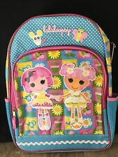 "FAB LALALOOPSY Sew Magical Sew Cute16"" Pink Backpack School Book Bag Travel"