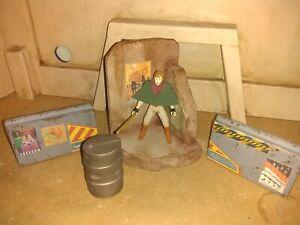 Custom acid rain star wars 5 piece diorama Figure lot 3.75 building 1:18 scale