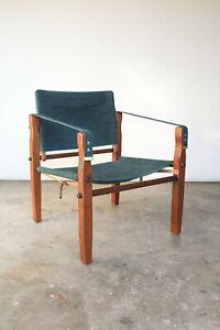 Gold Medal Safari Chair / c 1950s / MCM Mid Century Modern / Arne Norell Sirocco