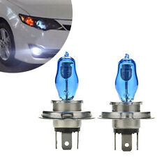 1PAIR H4 HEADLIGHT GLOBES CAR LIGHT BULBS 6000K 100/90W 12V XENON SUPER WHITE E&