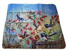 Jenny Sanders Art on exclusive Picnic Rug design made In Oxford Fabric
