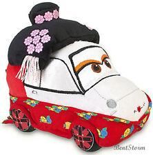 """DISNEY STORE PIXAR CARS 2 MOVIE PLUSH OKUNI KABUKI DANCER 7"""" Toyko Japan Kimono"""