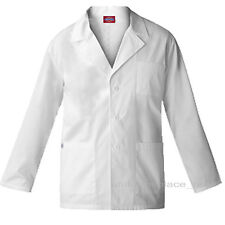 Dickies MEDICAL SCRUBS Missy Fit consultation Lab Coat 84401 White 3 pockets