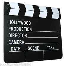 Movie Director Clapboard Production Slateboard Film Clapper