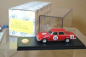 GAMMA MODELS 1968 ALFA ROMEO 1750 BERLINA 24hr SPA 15ar