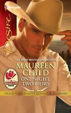 NEW - One Night, Two Heirs by Child, Maureen