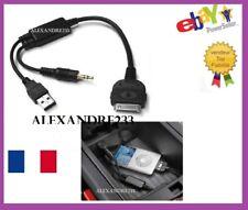 Cable adaptateur iphone ipod pour BMW X5 après 03/2007 et idrive