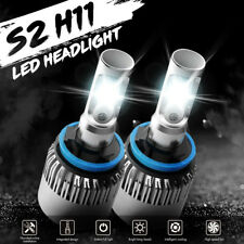 H8/H9/H11 LED HEADLIGHT BULBS POWER AUTO FRONT CREE LIGHT CONVERSION KITS 2PACK