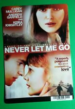 NEVER LET ME GO MULLIGAN KNIGHTLEY GARFIEL MINI POSTER BACKER CARD (NOT a movie)