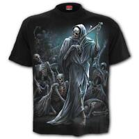 SPIRAL DIRECT DANCE OF DEATH T-Shirt Reaper/Skeleton/Gothic