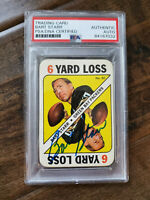 1971 TOPPS SIGNED AUTO GAME CARD BART STARR PACKERS ALABAMA HOF PSA/DNA # 50