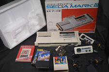 Used SEGA MARK III 3  JAPANESE VERSION IMPORT MASTER SYSTEM JAPAN  + HOKUTO KEN