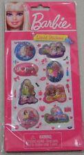Barbie Liquid Stickers New Set Of 12 Scrapbook Packs total crafts Mattel Fashion