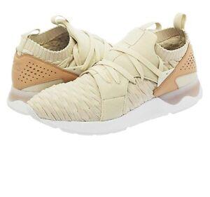 Asics Gel-Lyte V Sanze Knit Men's Birch Sneaker Shoes H800N-0202 US Size 8 NEW