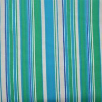 """100% Cotton Quilt DIY Crafts Fabric by the Half Yard (18"""") - Stripes - Green"""