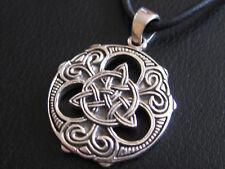 Keltischer Knoten 925'er Silber  Ketten Anhänger  / KA 817