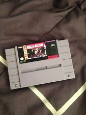 Bulls Vs Blazers and the NBA Playoffs (Super Nintendo, 1992) SNES GAME ! Nice!