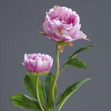 Pfingstrose Kunstblume lavendel 60cm lang Deko