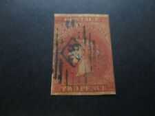 South Australia Stamps: 2d Red  Imperf   - RARE Great Item (f319)