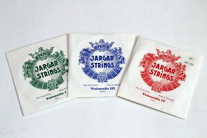 Jargar Strings - Cello Saiten - Violoncello Saiten - G C strong medium