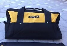 "Dewalt Extra Large 20"" Inch Heavy Duty Wide Mouth Tool Bag With 6 Pockets"