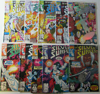 Silver Surfer 71-80  Lot Of 10 Comics Marvel 1990s Near Mint Comic books