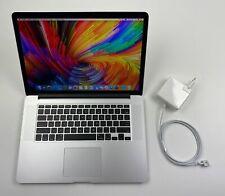 """Apple MacBook Pro Retina 15,4"""" i7 2,2 Ghz 256 GB SSD 16 GB Ram 2015 MJLQ2LL/A"""