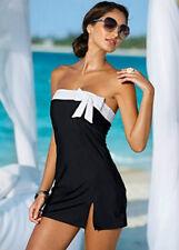 USA Women One Piece Bikini Set Swimsuit Bathing Suit Swimwear Beachwear Hot