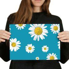 A4 - Blue Daisy Flowers Garden Poster 29.7X21cm280gsm #2439