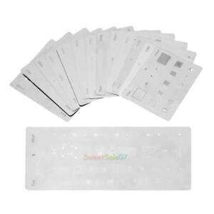 14pcs BGA Reballing Stencil Dedicate Kit Solder Template for iPhone Smartphone